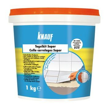 Colle pour carrelage Super Knauf 1 kg blanc
