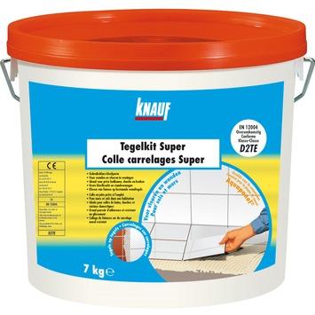 Colle pour carrelage Super Knauf 7 kg blanc