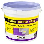 Colle en pâte pour carrelages Easy Weber 16 kg beige