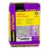 Colle pour carrelage Tile Basic Weber 20 kg gris