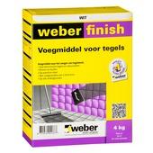 Weber voegmiddel wit 4 kg