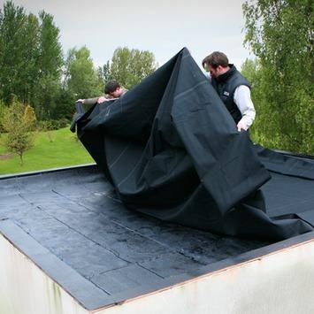 Toiture en caoutchouc EPDM Aquaplan 70x10 cm (0,07 m²)