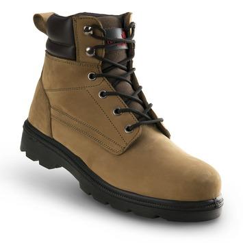 Werkschoenen Kopen Gamma.Busters Werkschoen Nevada Hoog Bruin 40 Werkschoenen Werklaarzen