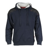 Sweat à capuchon navy L