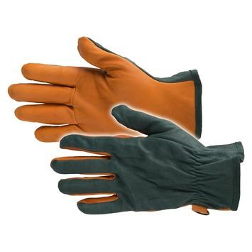 Busters tuinhandschoen Hydro Leather groen-oranje M