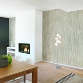 Lambris Everwood gris imitation chêne Grosfillex 3,9m²