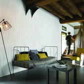 Lambris Everwood blanc imitation chêne Grosfillex 3,9m²