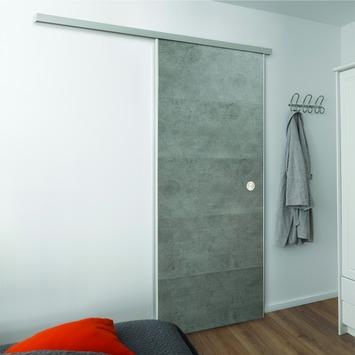 Grosfillex schuifdeur PVC concrete 211,3x87,4 cm