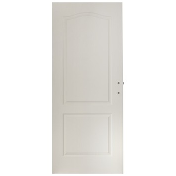 Porte intérieure Montréal OK avec serrure 201,05x78 cm blanc