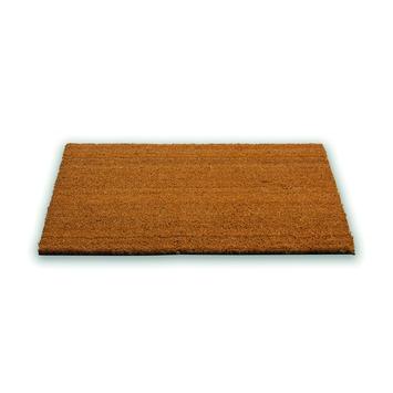 Kokos voetmat pvc 50x80 cm naturel