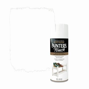 Rust-Oleum Painter's Touch spuitlak zijdeglans wit 400 ml