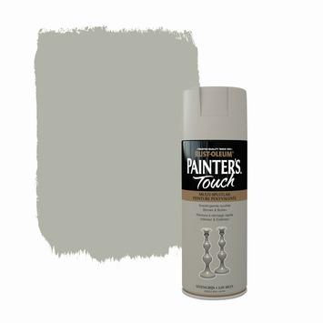 Rust-Oleum Painter's Touch spuitlak zijdeglans steengrijs 400 ml