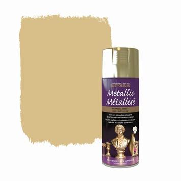 Rust-Oleum Metallic hoogglans spuitlak helder goud 400 ml
