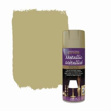 Rust-Oleum Metallic hoogglans spuitlak goud 400 ml