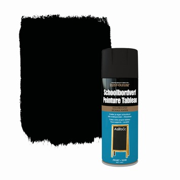 Peinture tableau Rust-Oleum mat noir 400 ml