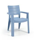 Allibert chaise Ibiza bleu