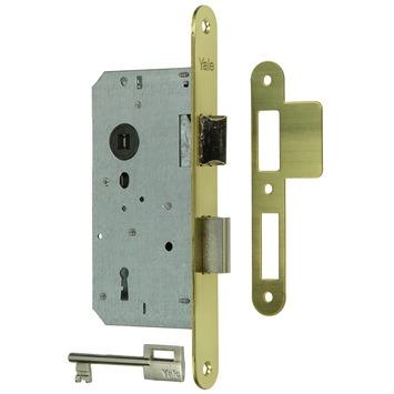 Yale insteekslot A1356 links/rechts messing Doorn 50mm PC 72mm