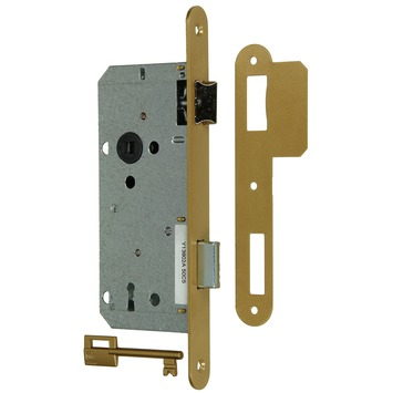 Yale insteekslot A1390 links/rechts messing Doorn 50mm PC 90mm