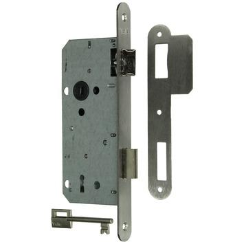 Yale insteekslot A1390 omkeerbaar met afgeronde voorplaat links/rechts inox Doorn 50mm PC 90mm