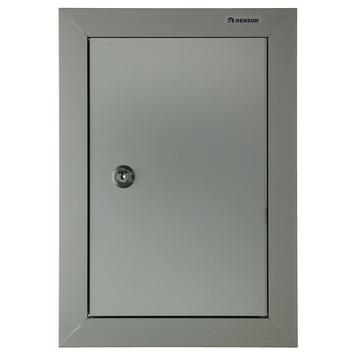 Porte de boîte aux lettres Yale 606 200x300 mm aluminium