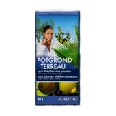 Agrofino terreau pour plantes méditerranées 40 L
