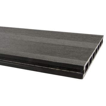Planche de terrasse WPC XL 2,5x25x300 cm anthracite