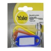 Porte-clé en plastique Yale 4 pièces