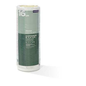 Rouleau de laine de verre  GAMMA 16x60x400 cm 4,8 m² Rd=4 2 pièces (exclusivité webshop)