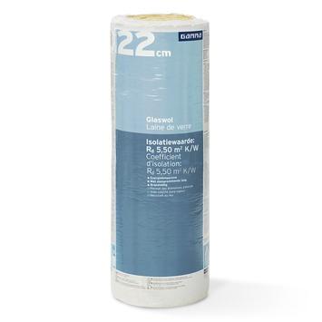 Rouleau de laine de verre GAMMA 22x60x300 cm 3,6 m² Rd=5,5 2 pièces (uniquement en vente au webshop)