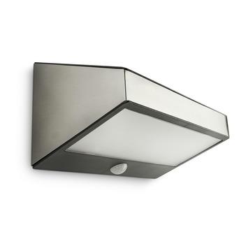 Applique extérieure avec détecteur de mouvement Greenhouse Philips LED intégrée 1W 100 lumens inox