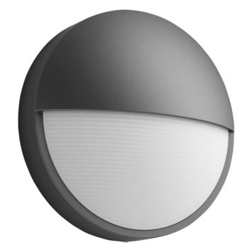 Applique extérieure Capricorn Philips LED intégrée 6W 600 lumens anthracite