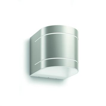 Applique extérieure Sunset Philips LED intégrée 2 x 4,5W 1600 lumens inox