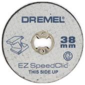 Métal MultiSet S456JC Dremel speedclic 5 pièces