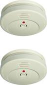 Détecteur de fumée Smartwares RM149 blanc 2 pièces