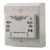 Transformateur Friedland pour sonnette 8 V 1 A