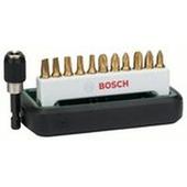 """Jeu d'embouts Bosch 1/4"""" 12 pièces"""