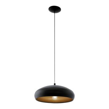 Eglo Vintage Mogano hanglamp excl. lamp E27 max. 60W zwart