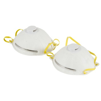 Masque anti-poussière FFP2 GAMMA avec ventilation 2 pièces