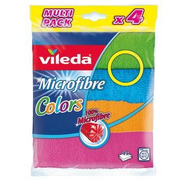 Vileda microvezeldoek multicolor 4 stuks