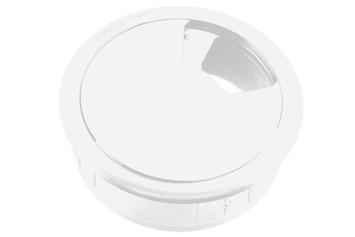 Bouchon bureau Starx 60 mm synthétique blanc
