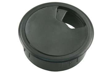 Bouchon bureau Starx 60 mm synthétique noir