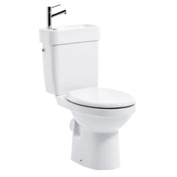 Allibert wc-pack met ingebouwde lavabo