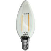 Ampoule flamme LED à filament Handson E14 2,3W= 25W 250 Lm