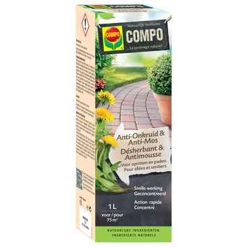 Herbicide et anti-mousse Compo 1 L