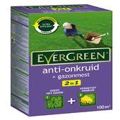 Herbicide et engrais Evergreen pour 100 m²