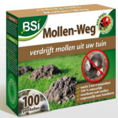 BSI geurbollen anti-mol 100 stuks