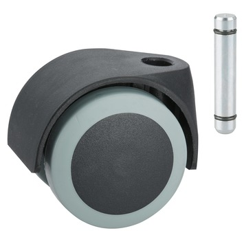 Roulette pour meuble avec tige 50 mm 40 kg