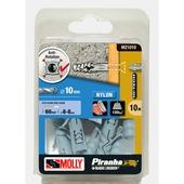Molly Piranha hi tech nylon plug M21010-XJ 10x50 mm