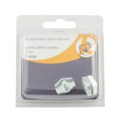 Kabelklem Simplex 2 mm 2 stuks