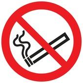 Pickup pictogram verboden te roken ø 30 cm